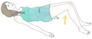 リウマチ体操 腰の運動