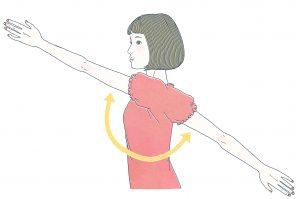 リウマチ体操 肩